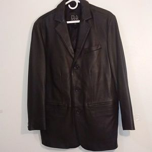 Jos.A Bank leather jacket size small